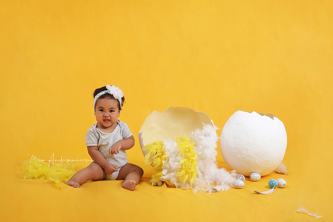 6 - 9 month baby photography